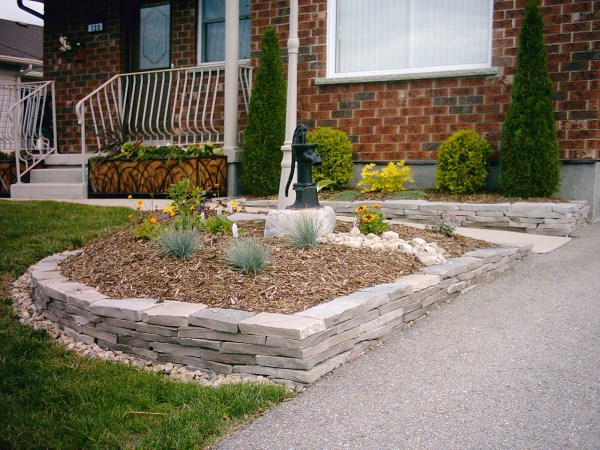 flower beds peter built landscape