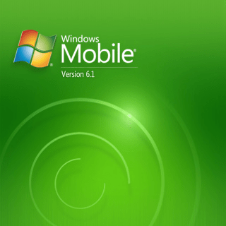 Windows Mobile 6.1 Professional bootup screen