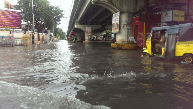 flooding in t-nagar