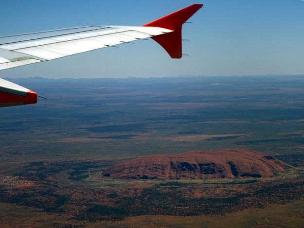 Uluru from the air