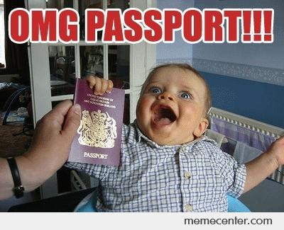 found passport meme