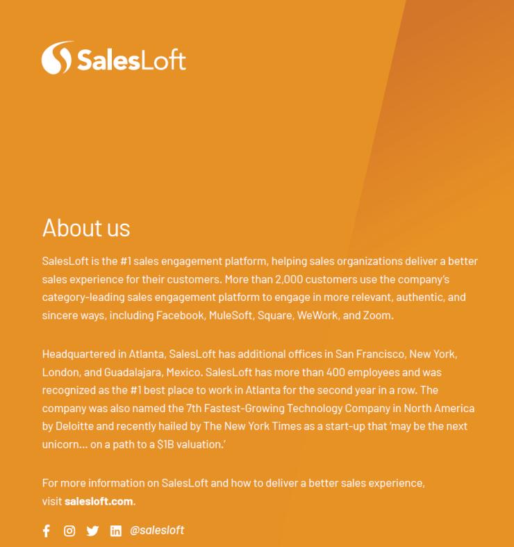 salesloft lead magnet