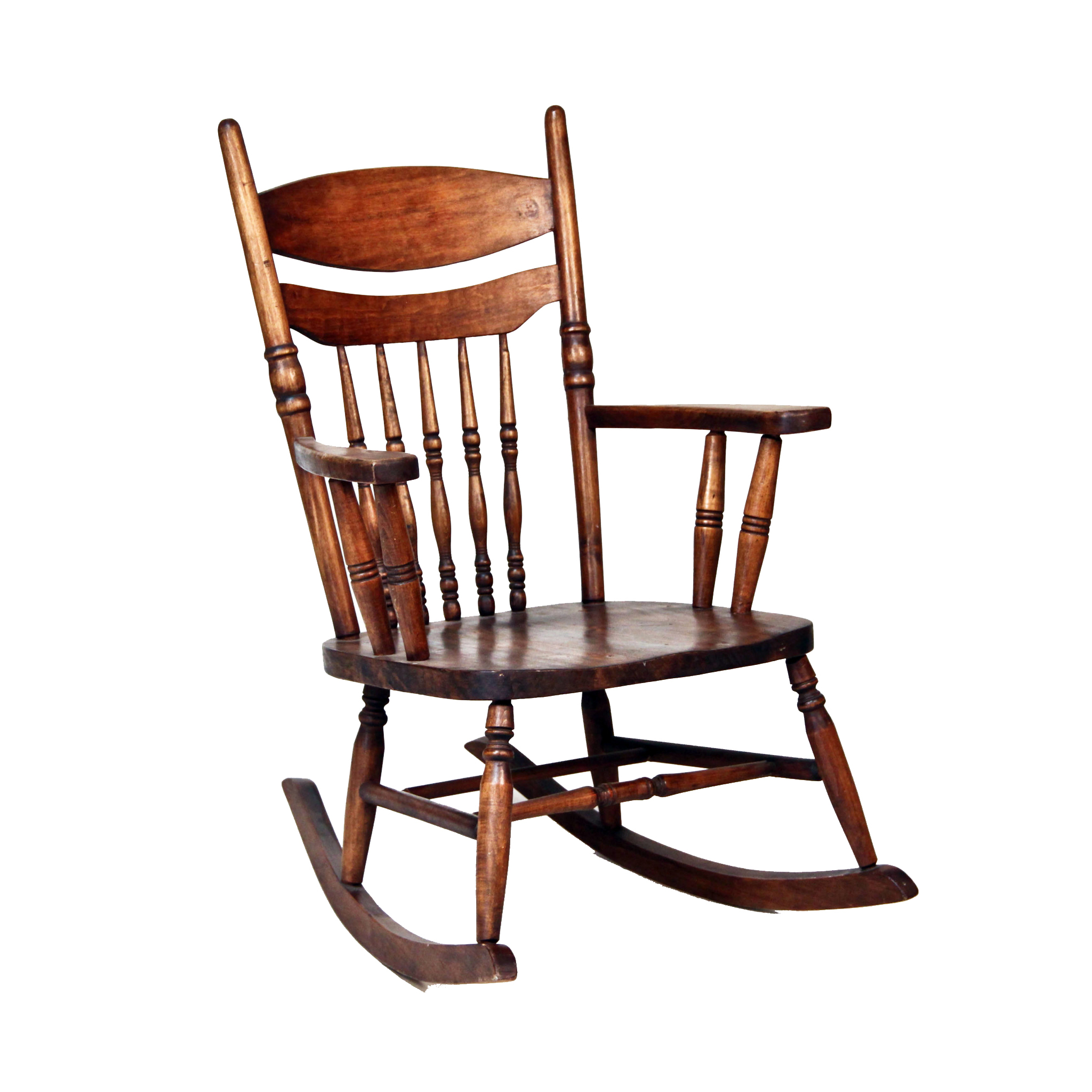 Accent Rocking Chairs Wood Rocker Accent Chair Peter Corvallis Productions