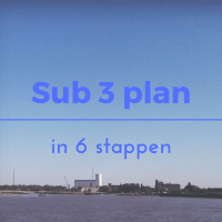 Sub 3 plan - in 6 stappen
