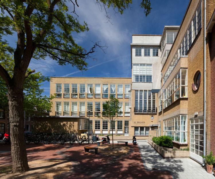 De Greiner, gebouw in Haarlem, werklocatie van Peter de Ruyter