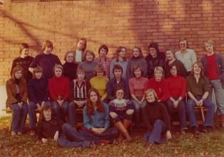 Min gamla gymnasieklass 1975