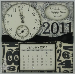 Monthly Calendar Challenge - January 2011