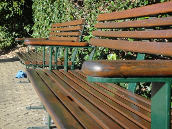 The bench seats at the top of Jacob's Ladder