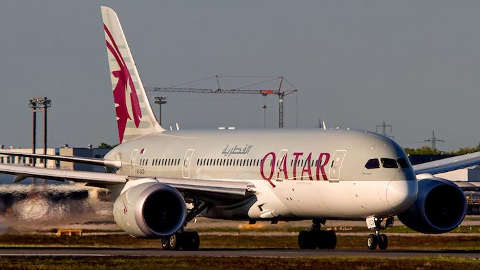 femte daglige flight davao Filippinene Qatar Airways