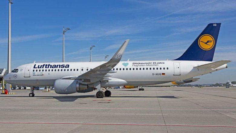 Lufthansa feirer