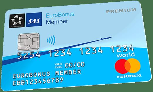 Triple poeng i halve januar – SAS EuroBonus Mastercard Premium