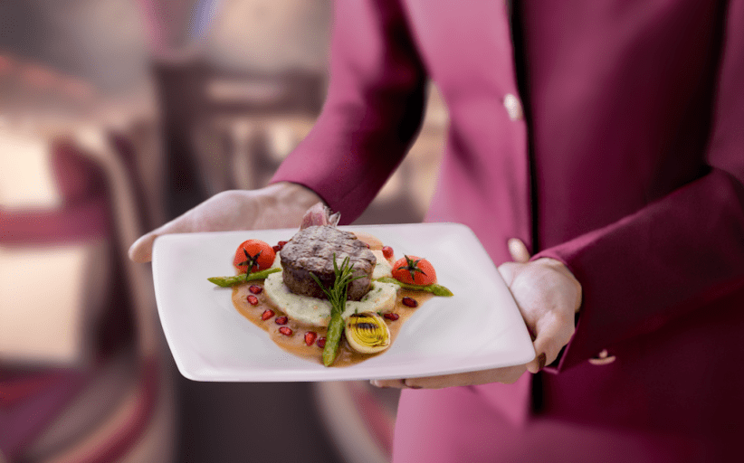 Qatar Airways er på lufta med Pre-Select Dining