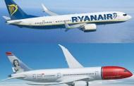 Intet samarbeid mellom Norwegian og Ryanair