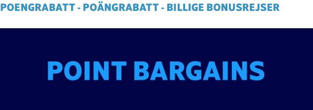 desember utgave Point Bargains uke 7 2019