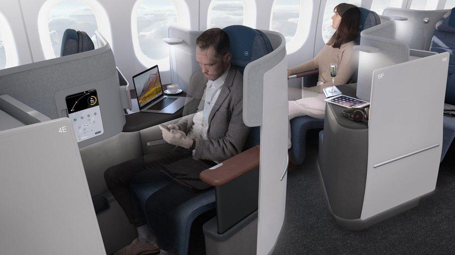 Boeing 777-9 Business class
