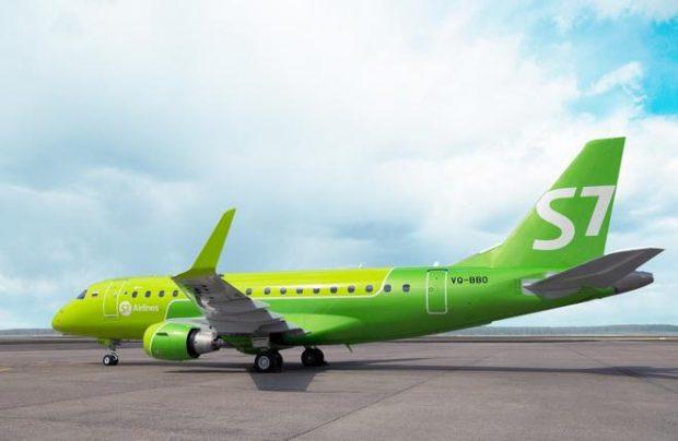 S7 Airlines åpner sommerrute mellom Sankt Petersburg og København