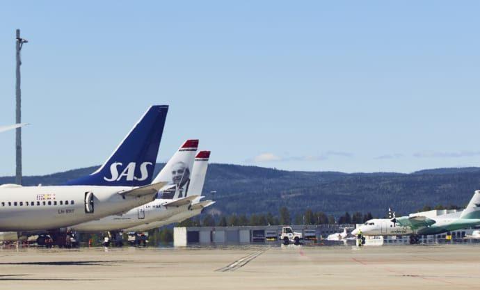 Endringer i flypassasjeravgiften Legger til rette to av ti SAS gruser