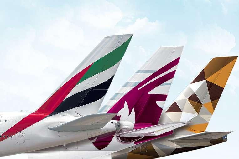 kontroll over flyselskapene