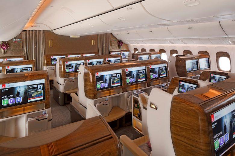 Business Class Kampanje Emirates kampanje