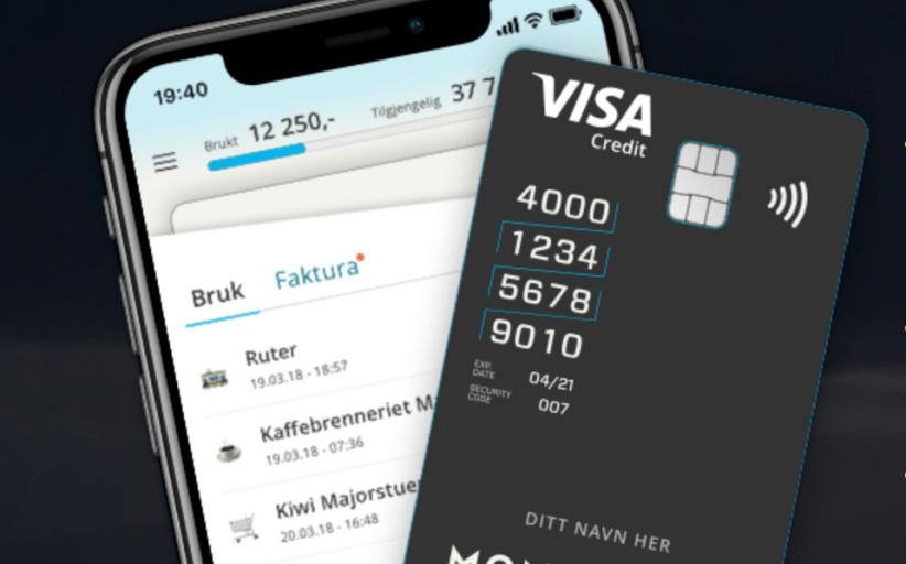 Monobank satser digitalt med nytt kredittkort