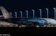 A380 på Avinor Oslo Lufthavn