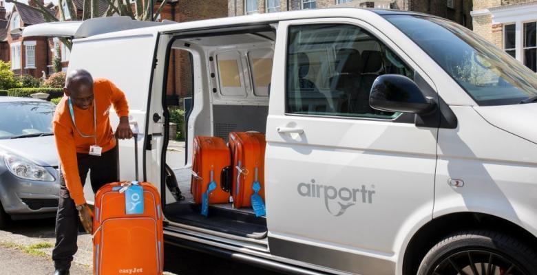 easyJet tilbyr bagasjehenting i London området