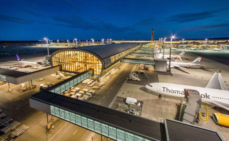 beste flyplasser i Europa