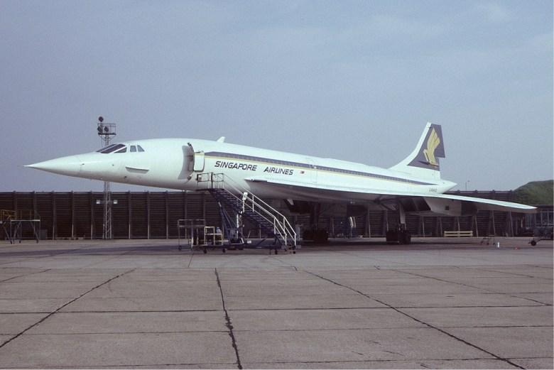 Concorde Singapore Airlines
