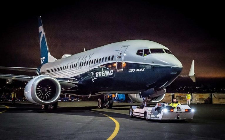 Made in China venter på B737 MAX