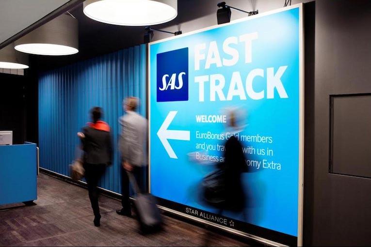 SAS åpner priority lane