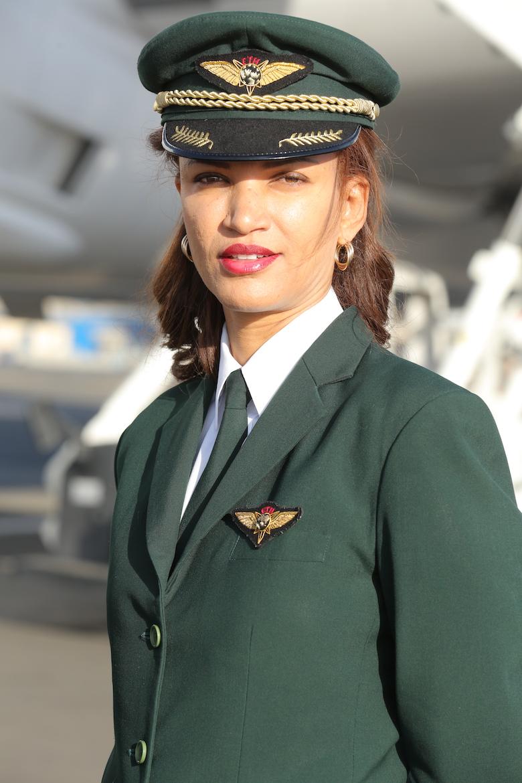 Kvinnefly fra Ethiopian