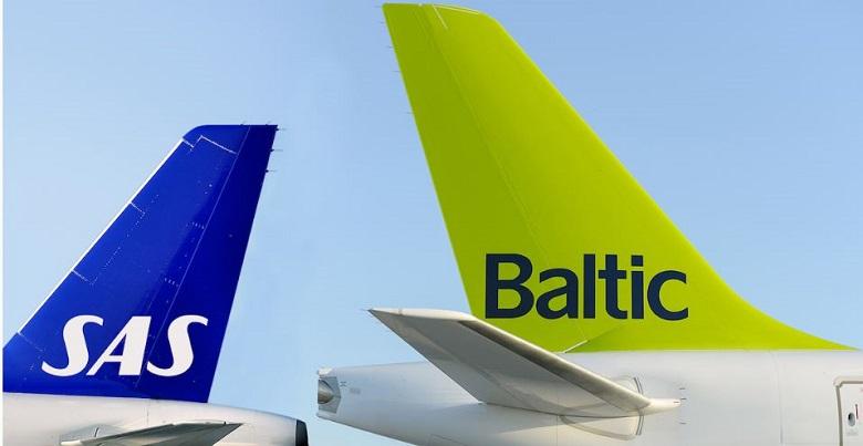 SAS og airBaltic