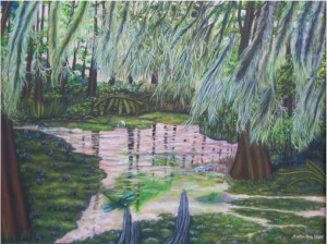 Painting by Sallie Ann Glassman