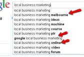 Marketing and SEO Google Instant suggests Melbourne
