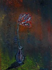 Blume in Vase