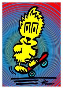 Skater colour 2 4 XXX 5 X