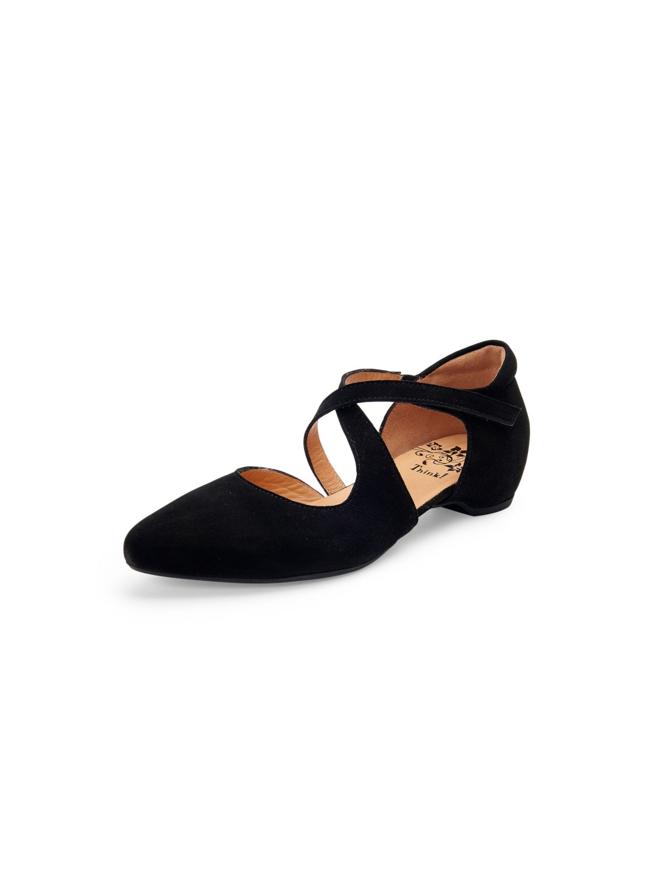 """´´Imma"""" ballerinas in a slightly pointed style Think! black size: 43 eos 80d Canon EOS 80D  396242 PACK SL 131216 130000"""
