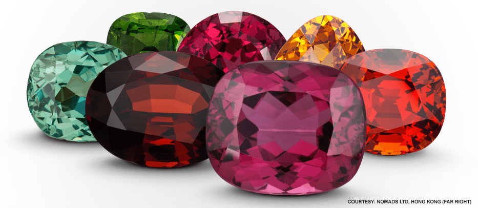 GARNETS – MULTI-COLORED BEAUTY