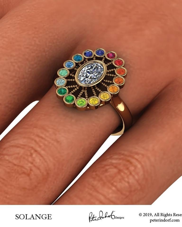 "Solange – ""Rainbow Ring"""
