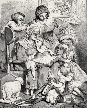 Ma mère l'oye by Gustave Doré (for the avoidance of doubt, I'm not saying that Lori is Mother Goose)