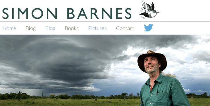 Simon Barnes Author