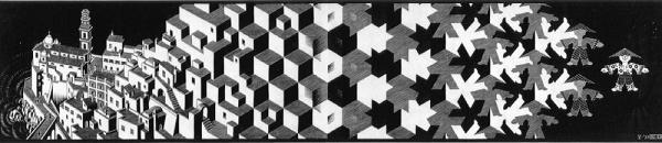 Escher applies to most aspects of human endeavour