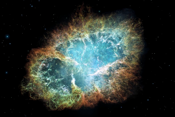 The aftermath of a supernova (borrowed from NASA again)