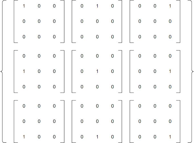3x3 basis