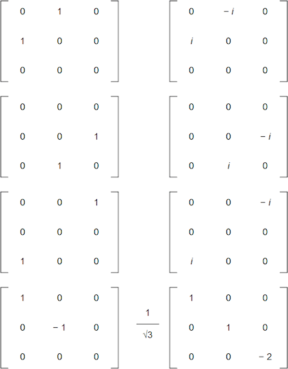 su(3) Lie Algebra basis-vs Gell-Mann matrices