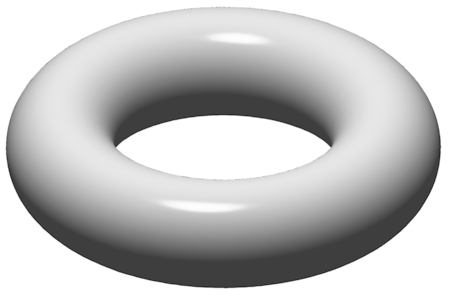 A torus [see Acknowledgements for Image Credit]