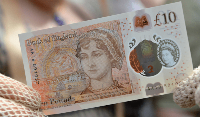 £10 note