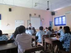 Pemateri di SMA Pangudi Luhur