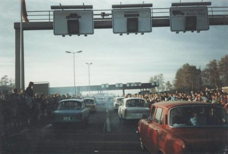 Border Crossing at Helmstedt