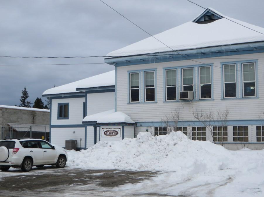 Arrow Lakes Historical Society Building